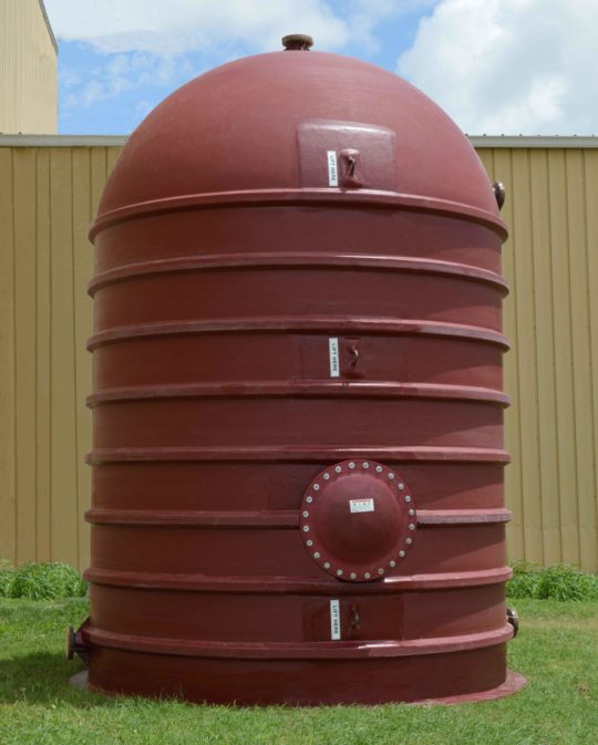 pre-installation tank